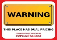 double pricing thailand